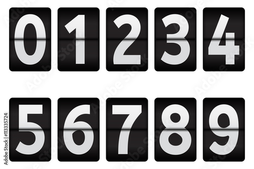 Flipping numbers. 0-9 digits