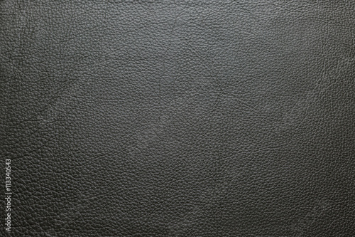 Staande foto Leder Dark brown leather texture background