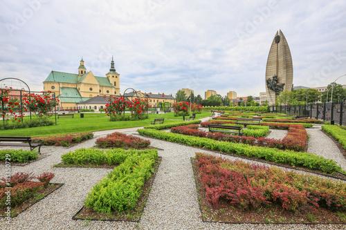 Fototapeta miasto   rzeszow-ogrod-publiczny-w-centrum
