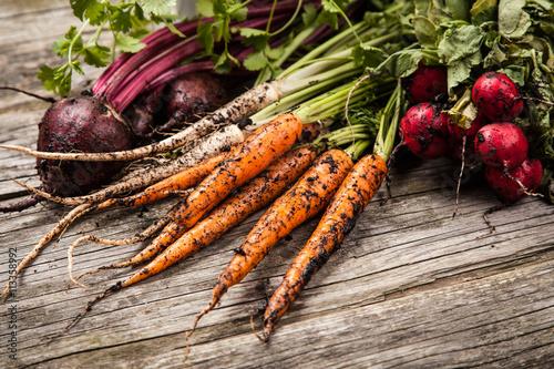 Recess Fitting Vegetables Fresh organic vegetables