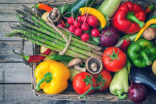 Healthy Organic Vegetables - 113361513