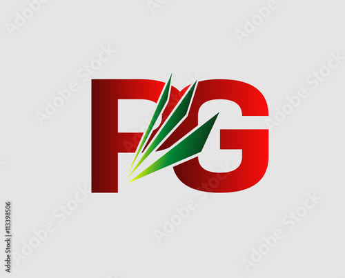 Pg Letter Logo Buy This Stock Vector And Explore Similar Vectors