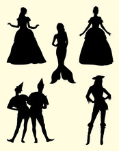Awesome Costume Silhouette