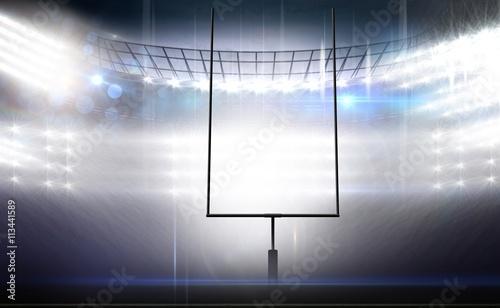 Fotografia, Obraz  American football arena
