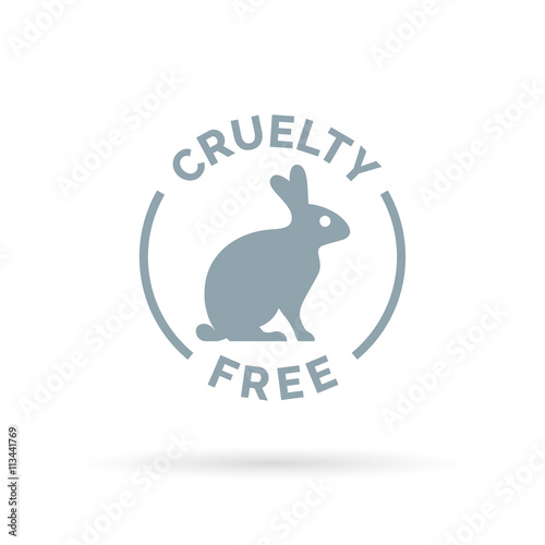 Animal Cruelty Free Icon Design Product Not Tested On Animals Sign