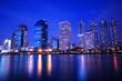 Bangkok Downtown City Skyline