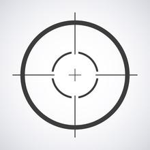 Target Icon, Sight Sniper Symb...
