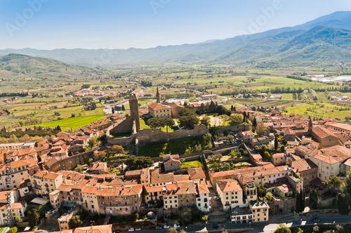 Photo La Valle Verde in the city of Castiglion Fiorentino in Tuscany - Italy