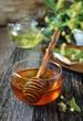 Honey, linden tea and linden blossom