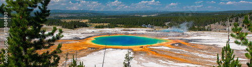 Foto Grand Prismatic Spring, Yellowstone National Park