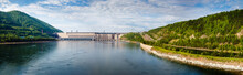 Summer, View Of Hydroelectric ...
