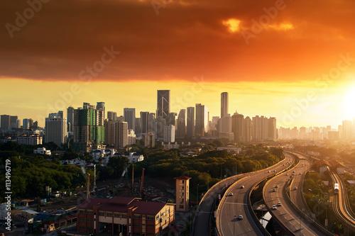Valokuva  skyline and buildings