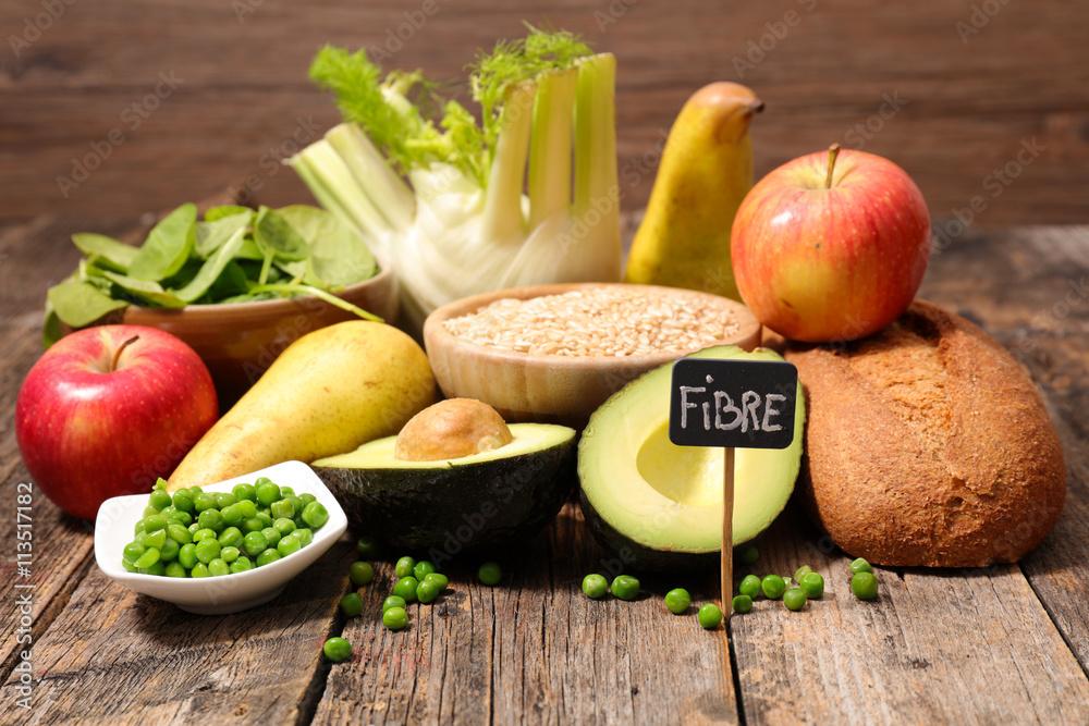 Fototapety, obrazy: food high in fiber