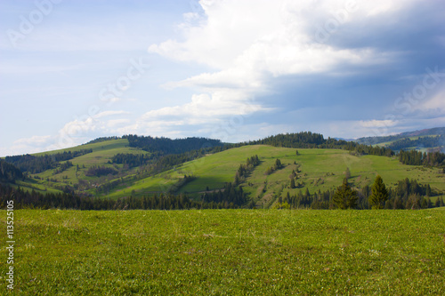 Papiers peints Colline Hills in western Ukraine