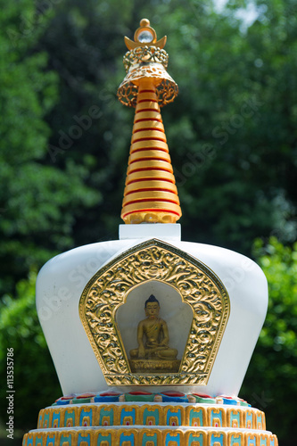 Fotografie, Obraz  Stupa