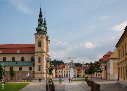 Poster Northern Europe The great Christian basilica in the Czech Republic