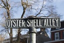 Unique Street Sign Port Deposit, Maryland