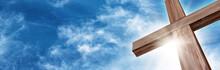 Glorious Wooden Cross