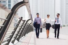 Business People Walking.