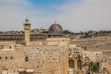 Al-Aqsa Mosque In The Old City...