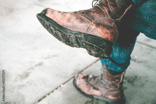 Fotografía  Work Boots