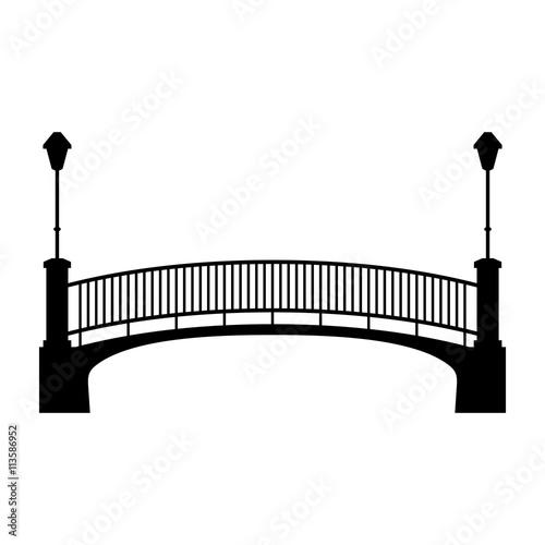 Canvas Prints Bridge Park bridge