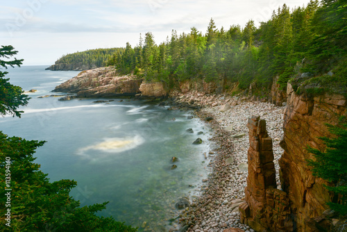 Photo Acadia National Park Coast