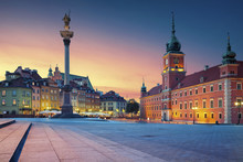Warsaw. Image Of Old Town Wars...