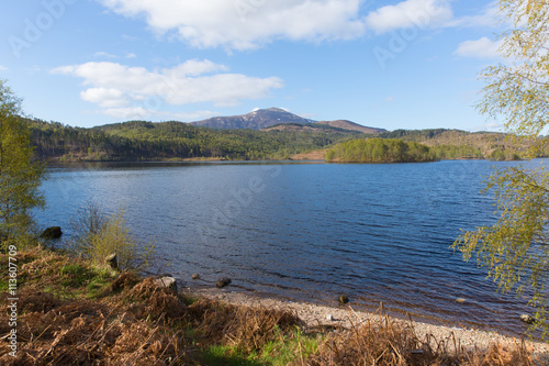 Fotografie, Obraz  Scottish Loch Garry Scotland UK beautiful lake west of Invergarry on the A87 sou