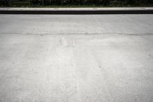 Road With Sidewalk Background