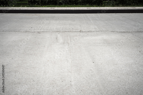 Road with sidewalk background