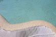 Curved pool edge