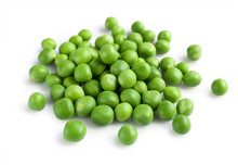 Fresh Young Green Peas