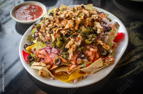 Fotografía  Mexican Loaded Nachos