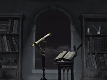 The Room Of An Old Astronomer