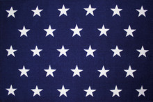 Star Background Of An American Flag
