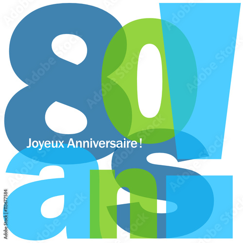 Carte Joyeux Anniversaire 80 Ans Buy This Stock Vector And Explore Similar Vectors At Adobe Stock Adobe Stock
