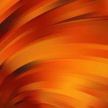 Colorful Smooth Light Lines Background. Orange, Brown Colors.