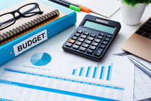 Financial And Budget Planning With Chart Report