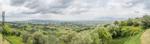 fototapeta na lodówkę scenery from Italy Marche