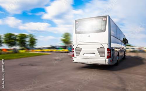 Zdjęcie XXL Przystanki autobusowe na przystanku autobusowym