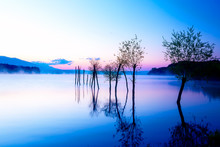 Beautiful Landscape With A Lak...
