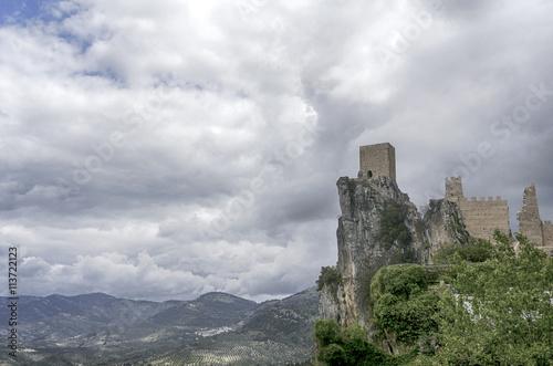 Castillo de la La Iruela en la provincia de Jaén, Andalucía