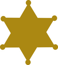 Sheriff Badge Star