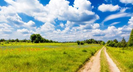 Obraz na Szkle Wiejski Lesser Poland Upland