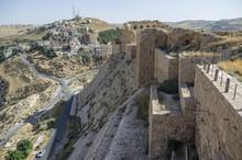 Walls Of The Kerak Castle, A L...