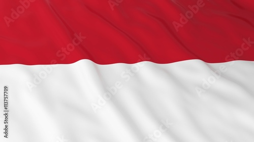 monegasque indonesian flag hd background flag of monaco