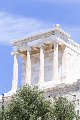 Fotografija  Temple of Athena Nike on the Acropolis