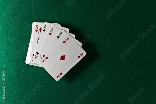 фотография  playing cards
