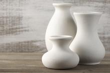 Unglazed Ceramic Vases